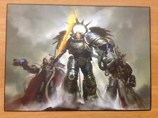Triumvirate Of The Primarch A5 Art Card Roboute Guilliman Cypher Voldus New