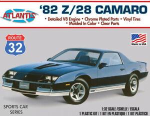 Atlantis 1982 Camaro Z-28 1:32 scale model car kit 004