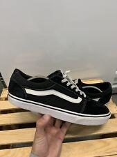 Vans Men's Size 10,5 Black Old Skool Sk8 Low Top Pre Owned