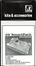 Hauler Models 1/48 T-34/76 TANK SMART PACK COMPLETE PHOTO ETCH DETAIL SET