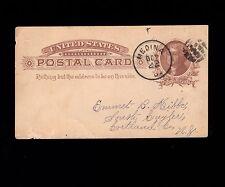 NEWSPAPER Gleanings Bee Culture Medina Ohio Anti Profanity Cards 1886 Postal 1m