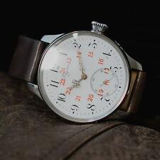 """Antique mens watch LONGINES vintage movement """" white passion """" wristwatches"""