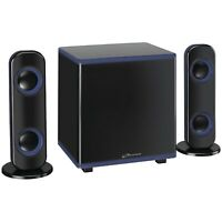 iLive Wireless Bluetooth 2.1-Channel Stereo LED Music System w/ Subwoofer