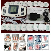 Electrical Stimulator Massager Tens Acupuncture Muscle Relax Therapy 16Pads HOT.