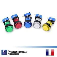 x1 x2 x3 Boutons Translucide LED arcade 28 mm - Push Buttons