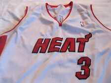 Mens Mitchell Ness Dwyane Wade # 3, Miami Heat Basketball Jersey SZ  3XL