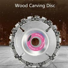 4'' Angle Grinder Disc 22 Tooth Chain Saw for Wood Carving Cutting Tool