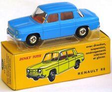 Véhicules miniatures bleus Dinky moulé sous pression
