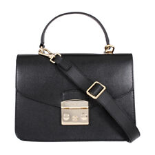 Furla Metropolis Ladies Small Black Onyx Leather Crossbody 948625