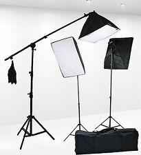 Fancierstudio 2400 Watt Professional Lighting Kit With Three Softbox Lights, ...