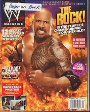 WWE Magazine December 2011 The Rock, Bret Hart 040517nonDBE