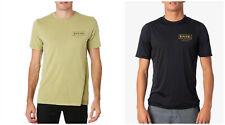 Rip curl Mens Driven S/Sleeve UV Tee Rash Vest Protection Swim Surf Tops S-3XL