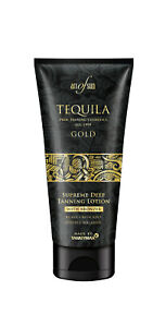 Art of Sun Tequila Gold Supreme Deep Tanning Lotion mit Bronzer + Melanin 200 ml