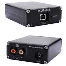 Mini amplificatore scheda audio esterna USB DAC K.Guss ES9018K2M + AD823 hi-fi