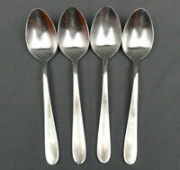 4 x Splendide Willow Stainless Oval Soup Spoon 7 3/4""
