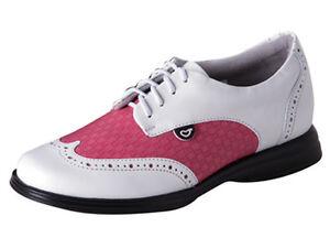 Sandbaggers Golf Shoes: Charlie Fuchsia