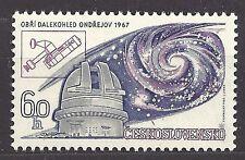Czechoslovakia 1967 MNH ** Mi 1720 Sc 1489 Ondrejov Observatory Giant telescope.