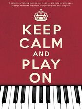 Keep Calm & Play On Imagine Bridge over Troubled Water Piano PVG Music Book