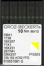 Groz Beckert Macchina da cucire industriale a sfera aghi 16x231 DBx1 MISURA