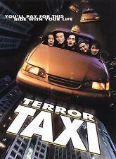 Terror Taxi DVD***NEW***