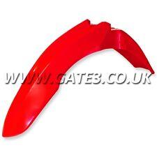 HONDA CRF450R CRF 450 R 2009-2012 RED FRONT FENDER MUDGUARD MX PLASTICS