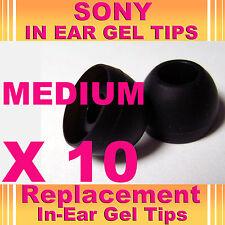 10 Sony MDR ex CX dans l'oreille écouteurs casque écouteurs bourgeons Gel Conseils medium