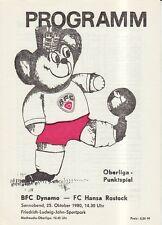 OL 80/81  BFC Dynamo Berlin - FC Hansa Rostock