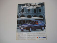 advertising Pubblicità 1994 SUZUKI SWIFT
