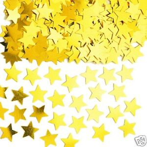 GOLD stars Table confetti sprinkles GOLD STARDUST Party Table Decorations