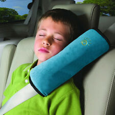 Child Car Safety Seat Belt Pillow Shoulder Strap Pad Cushions Head Supports Kids Blue