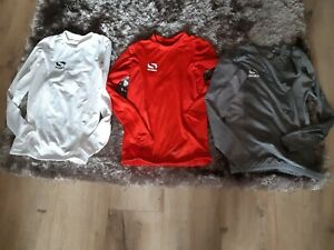 3 Boys Under Armour Age 13 Sondico barely worn