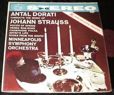 MERCURY LIVING PRESENCE STEREO LP SR-90008 Strauss Antal Dorati Conducts