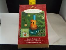 Hallmark Ornament 2000 Scuffy The Tugboat Nib