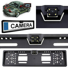 European Car Number License Plate Frame with Rear View Reverse Backup Camera UK