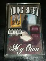 Young Bleed ‎– My Own | Cassette Tape Album 1999 Gangsta Rap hip hop rare