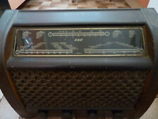 More details for vintage g.e.c. valve radio cat no. bc 5445  good working condition free uk p&p
