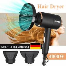 4000W Haartrockner Föhn Fön Haare Trockner Hair Dryer Haarfön mit 3 Stylingdüsen