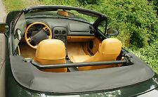 Mazda MX-5 NA Persenning  schwarz Abdeckung  NEU Leder Echtleder Lederabdeckung