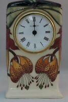 Moorcroft Anna Lily Clock