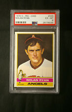 ***RARE** Centered 1976 Nolan Ryan OPC baseball card PSA6 Mets Angels O Pee Chee