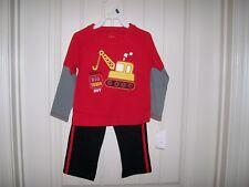 BABY GEAR BOYS 2-PC. DADDY'S BIG TOUGH GUY SHIRT & PANTS SET SIZE 24 MONTHS