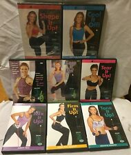 8 Debbie Siebers workout exercise program DVD set Slim in 6 firm mix tone it up