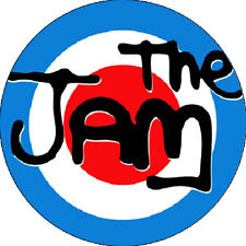 CHAPA/BADGE THE JAM Logo . pin button paul weller new wave mod punk small faces