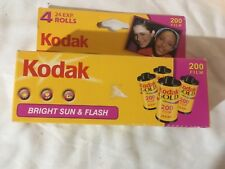 Kodak 200 Film 4 rolls (unused)(expired)