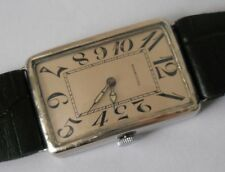 ANTIQUE MARCONI BY ROLEX 0.800 SILVER CASE MANUAL WIND SWISS WATCH FROM Ca 1920