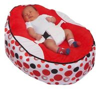 Top quality Baby Bean Bag with 2 Removable covers & Safety Harness- UK Seller