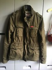 Superdry Womens winter Military Jacket Rookie Size m