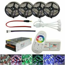 5M-20M 5050 300led RGB LED luz de tira RGBW Cinta Impermeable + RF Remote +12V Power