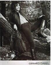 Publicité Advertising 2006 Charlotte Gainsbourg pour gerard Darel