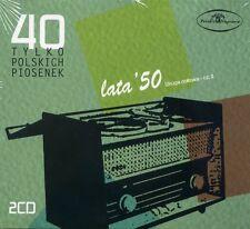 2CD 40 tylko polskich piosenek lata ' 50 druga połowa cz. I